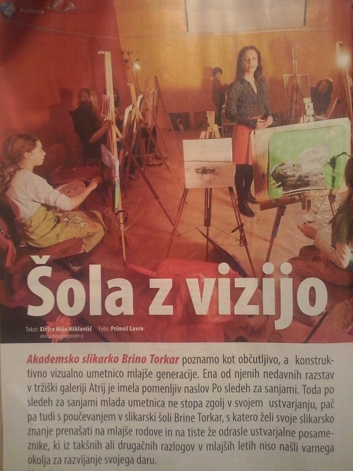 Slikarska šola v Reporterju